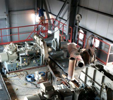 Переклад горнів агломашин №2-6 на змішаний газ.