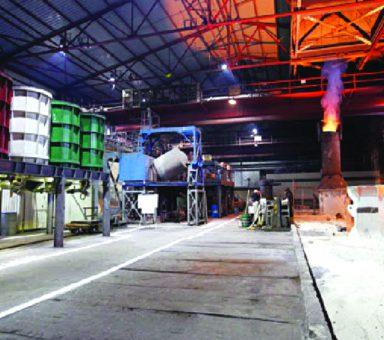 Технічне переоснащення двору виливниць ЕСПЦ-1 під виробництво феромолібдену