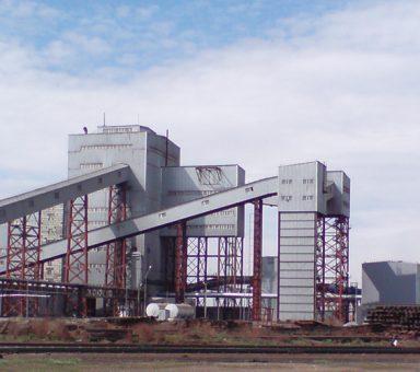"""Kazakhstan, JSC """"TNK"""" KAZAKHROM """"Aksu ferroalloy plant., Agglomeration factory"""