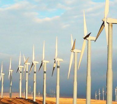 Wind park of capacity 500 MW